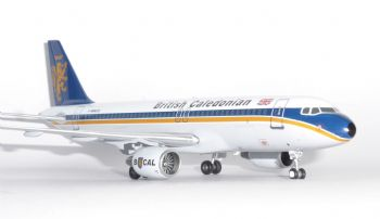 Airbus A320 BCal British Caledonian Aviation 200 Diecast Collectors Model Scale 1:200 AV2320002 p